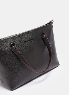 Sacs port/és /épaule Tommy Hilfiger Stitched Leather Extra Cc /& Coin