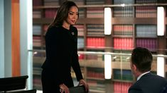 """Jessica Pearson (Gina Torres) in season 5, episode 2 of Suits, """"Compensation"""""""