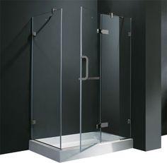 VIGO VG6011BNCL40WL Shower Enclosure   Traditional   Windows And Doors    PoshHaus
