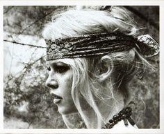Bandana- Brigitte Bardot  actress singer model french blonde '60s nouvelle vague