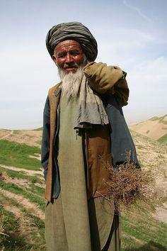 Mountains man, Afghanistan