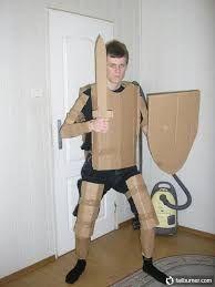 Resultado de imagen para como hacer una armadura de carton