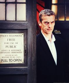 Ladies and Gentlemen... the twelfth doctor is.... PETER CAPALDI!!!!