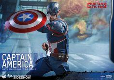 Action Figure - Captain America - Captain America Civil War