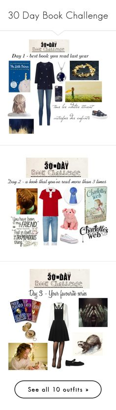 """30 Day Book Challenge"" by ballerinahippie on Polyvore featuring Houghton Mifflin Harcourt, J Brand, INC International Concepts, Oliver Gal Artist Co., Casetify, Bling Jewelry, Ports 1961, Miu Miu, Converse and Edition"