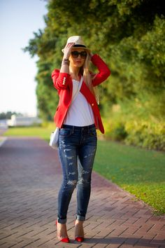 Casual Jeans Outfit :: Sophie's Silhouette