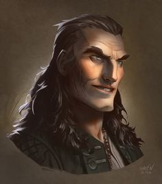 Character Portraits (weareadventurers: Pirates by Magnus Norén . Character Design Cartoon, Man Character, Fantasy Character Design, Character Inspiration, Character Reference, Character Concept, Dungeons And Dragons Characters, Dnd Characters, Fantasy Characters