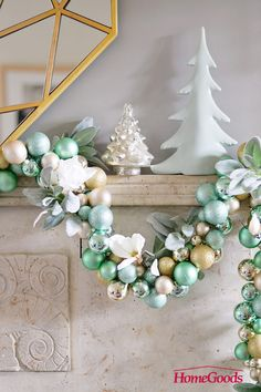 Whether you live in a warmer climate or love a coastal look, try sea foam green and icy blues with crisp white. Gloribell from the Know How She Does It blog complemented her holiday decor her with succulents and topical flowers native to her region. Find what inspires you in a store near you.