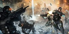 Upcoming Killzone: Mercenary Updates to Reduce File Size, Add Botzone, Free Maps and Vita TV Support Video Game Posters, Video Game Art, Video Games, Character Art, Character Design, Halo Armor, Comic Tutorial, Art Prints Online, Futuristic Art