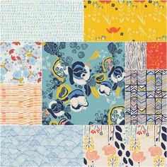 Meadow Fat Quarter Bundle in Picnic by the River