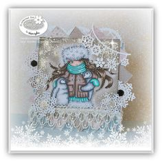 Magic Craft Land by Henryka Magic Crafts, Copic Markers, Colouring, Snow Globes, Doodles, Cards, Inspiration, Color, Home Decor