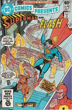DC Comics Presents Vol. 4 No. 38  1981  Superman and the Flash by TheSamAntics