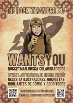 ¿Quieres colaborar con The RocketMan Project?