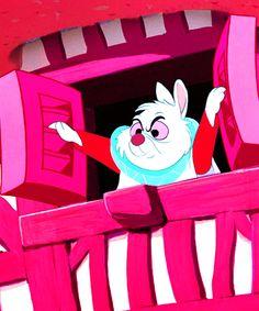*WHITE RABBIT ~ Alice in Wonderland, 1951