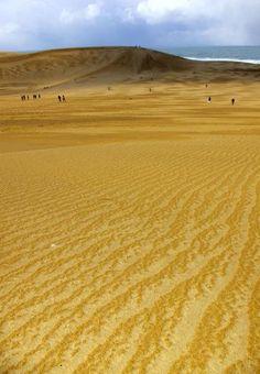 Tottori sand dune, Japan