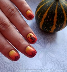 Nati testuje: Halloween nails!!!