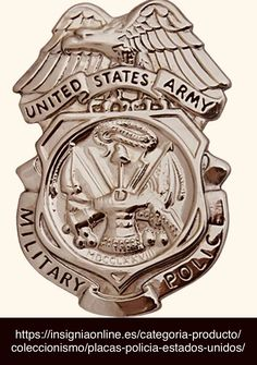 United States Army, military police badge Police Badges, Military Officer, State Police, United States Army, Sheriff, Knives, Appreciation, Coins, America