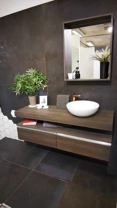 Zen Bathroom Design, Best Bathroom Designs, Bathroom Interior Design, Bathroom Ideas, Bathroom Remodeling, Remodeling Ideas, Small Luxury Bathrooms, Modern Bathrooms Interior, Modern Bathroom Vanities