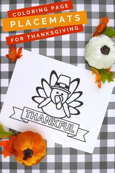 Keep kids busy at the holiday table with a thanksgiving placemats printable. They can color their placemats with crayons, markers, or colored pencils. Thanksgiving Placemats, Thanksgiving Coloring Pages, Thanksgiving Place Cards, Thanksgiving Projects, Thanksgiving Traditions, Thanksgiving Parties, Thanksgiving Decorations, Thanksgiving Recipes, Easy Diy Crafts