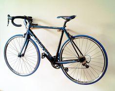 Bike Rack Oak by onTheWall22 on Etsy