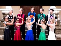 Why These Teens Dressed As Superheroes For The Prom
