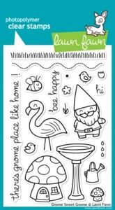 CHRISTMAS 2014 - Lawn Fawn GNOME SWEET GNOME Clear Stamps at Simon Says STAMP!