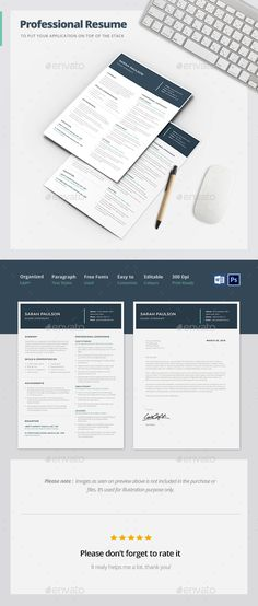 Professional Resume Template -14 Resume template download - professional resume template download
