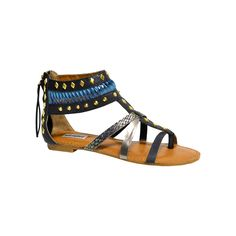 I love the Not Rated Lemon Twist Sandal from LittleBlackBag
