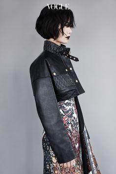 ~ Living a Beautiful Life ~ Bae Doo Na fashion photo Japanese Street Fashion, Asian Fashion, High Fashion, Winter Fashion, Fashion Shoot, Editorial Fashion, Moda Fashion, Womens Fashion, Elle Mexico