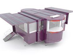 Arquitectura sostenible / Casas solares extensibles: Las casas del futuro
