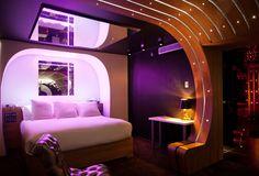 A Night Less Ordinary | James Bond Hotel Room | Purple Travel