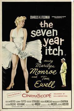The Seven Year Itch   starring Marilyn Monroe