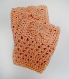 FREE SHIPPING Perfect Fall Crochet Boot Cuff OffWhite by Tzigns