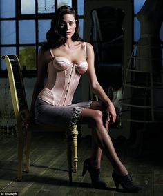 f1fb0db60 Triumph celebrate 125 years with beautiful vintage corsetry  sulk