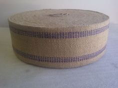Blue Jute Webbing - beautiful for big, fat bows on bride and groom chairs