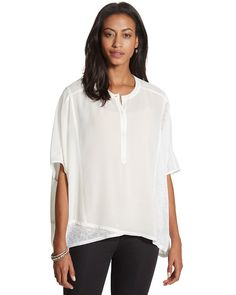 Chico's Marin Top #chicos