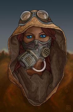 Sihaya by phantoms-siren on DeviantArt Arte Sci Fi, Sci Fi Art, Dune Book, Dune Frank Herbert, Dune Art, His Dark Materials, Cyberpunk Art, Science Fiction Art, Dune