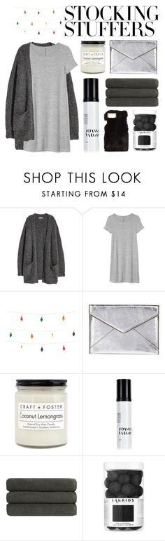 """#PolyPresents: Stocking Stuffers"" by moses-rodri ❤ liked on Polyvore featuring Gap, Rebecca Minkoff, Craft + Foster, Joanna Vargas, Christy, Charlotte Russe, contestentry and polyPresents"
