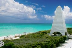 Seaside, Florida - Coleman Pavilion by architect David Coleman.