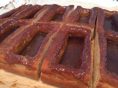Smørkager eller futsko, verdens bedste morgenkage Danish Cake, Danish Dessert, Danish Food, Dessert Cups, Baked Doughnuts, Sweet Pastries, Bread Cake, No Bake Cake, How To Make Cake