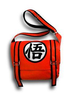 Dragon Ball Z Messenger Bag by DIKAdesigns on Etsy