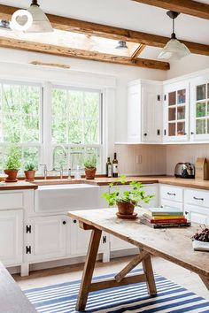 interior of the day: wood in the kitchen