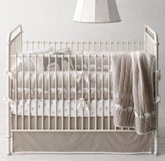 LOVE this bedding - Appliquéd Elephant Ombré Nursery Bedding Collection