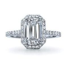 [ $37 OFF ] Vintage Emerald Cut 1Ct Diamond Weding Ring For Girl Solid Sterling Silver Fine Jewelry For Her Statement Gift