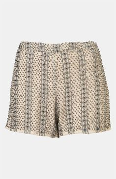 Topshop Embellished Shorts available at Embellished Shorts, Sequin Skirt, Tailored Shorts, Passion For Fashion, Boho Shorts, Fashion Beauty, Topshop, Nordstrom, Rompers