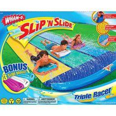 Slip 'n slide triple racer $19.88(reg,$38.)