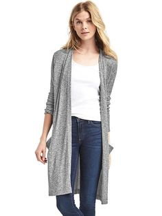 Soft spun knit open front cardigan $59.95