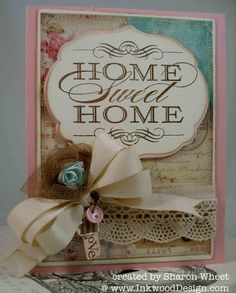 Designs by Sharon: Sweet Shabby Home