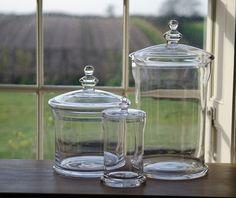 Belmont Glass Jars.  Neptune Southport.