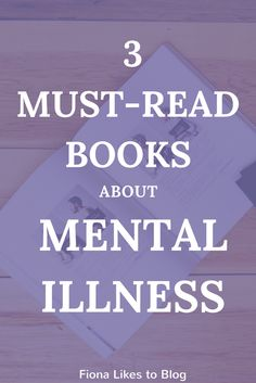 Best books for mental health/mental illness/depression